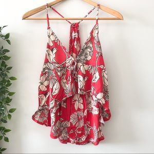 Urban Outfitters Floral Tank Top
